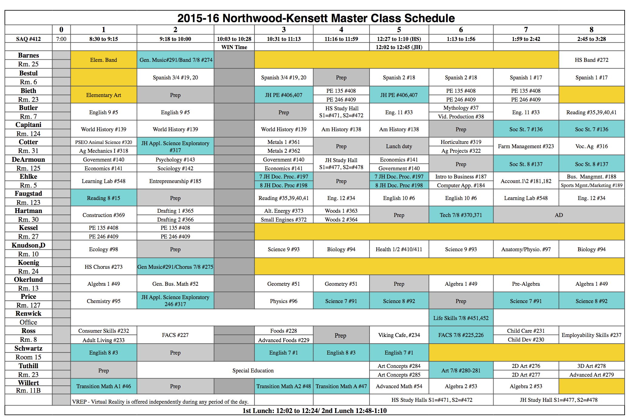 7 high school master schedule template elementary examples block master calendar template maxwellsz